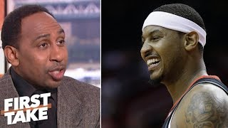 Stephen A: Carmelo Anthony is being scapegoated | First Take