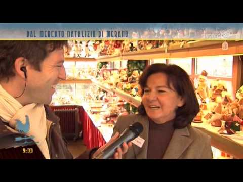 L'atmosfera del Natale dal mercatino di Merano