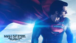 "Man Of Steel Movie Soundtrack ""Flight"" [HD]"