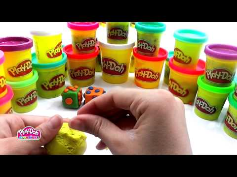 Play Doh Colorful Candy Box Sweet Shoppe ❤ How to Make Lollipops Cookies Cupcakes 720p