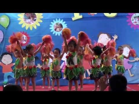 Múa: Vũ điệu rừng xanh - Mầm non Việt Pháp