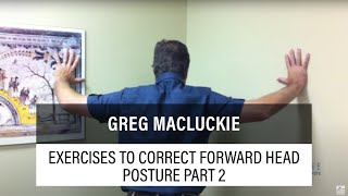 Exercises To Correct Forward Head Posture And The Upper