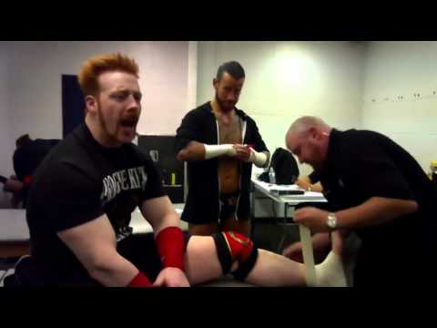 Funny WWE Summerslam 2012 Music Video backstage promo ( Superstars & Divas )