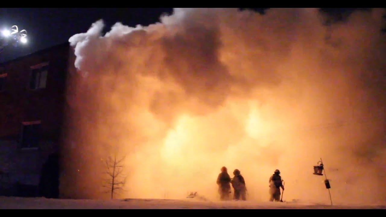 Cameraman first on scene at house fire feu 2 alarmes for Alarme feu maison