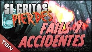 "FAILS Y ACCIDENTES - ""SI GRITAS PIERDES"" (The Deep Well)"