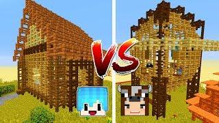 Thử Thách Làm  Nhà Hàng Rào Trong Minecraft (Minecraft)