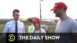 Jordan Klepper Fingers the Pulse - Clinton and Trump Supporters Find Common Ground: The Daily Show