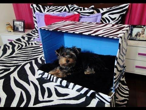 Cama Para Seu Cão ou Gato   DIY