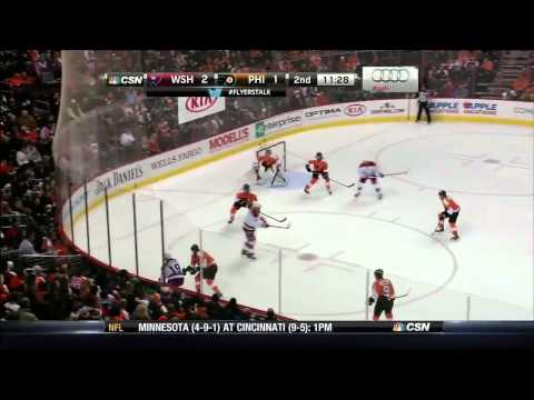 Washington Capitals vs  Philadelphia Flyers 17.12.2013