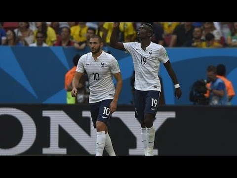 France vs. Nigeria World Cup 2014 Full Match Goals & Highlights 30/06/14 [FIFA 14 SIMULATION]