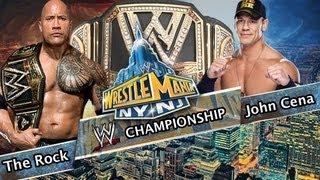 WWE Wrestlemania 29 The Rock Vs John Cena (WWE