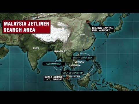 Search underway for missing Flight 370