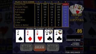How To Win At Video Poker And Find The Best Poker Game