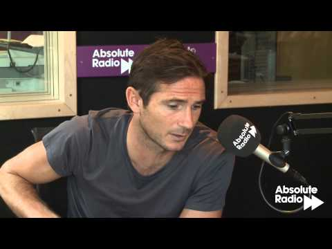 Frank Lampard interview with Absolute Radio's Ian Wright