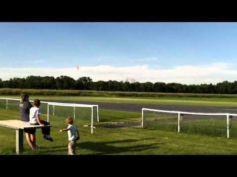 RC P51 Strega 40 Size - Really Tight Aerobatic Flying