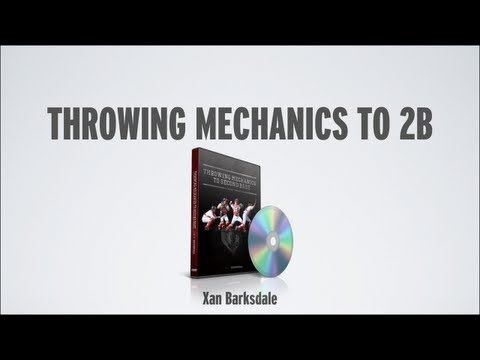 DVD - Throwing Mechanics to Second Base DVD by Xan Barksdale for Baseball Catchers