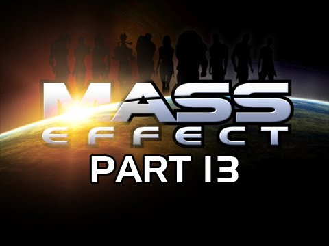Mass Effect Gameplay Walkthrough - Part 13 Feros Zhu's Hope Let's Play
