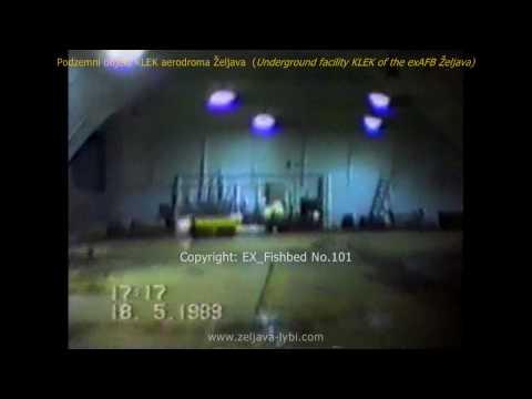 Podzemni objekt KLEK aerodroma Željava (1989)