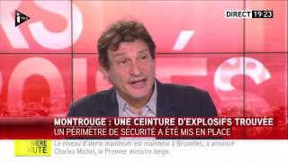 عاجل:العثور على حزام ناسف في صندوق نفايات قرب باريس  
