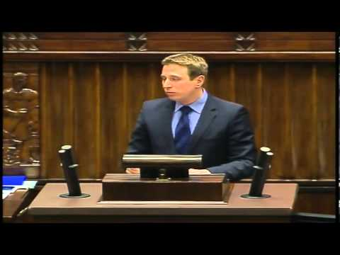 Wystąpienie posła Krzysztofa Brejzy - 37 posiedzenie Sejmu - 3 kwietnia 2013