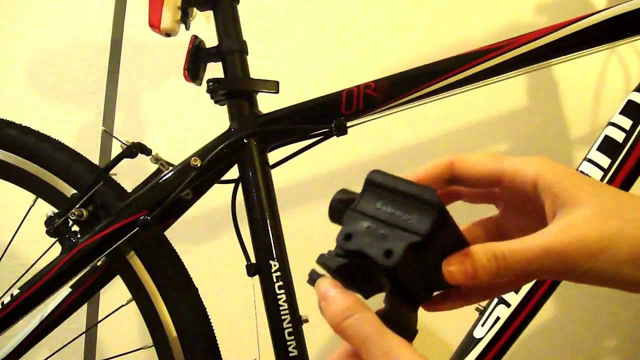 how to install an abus sinus bike lock part 1 of 2 youtube. Black Bedroom Furniture Sets. Home Design Ideas