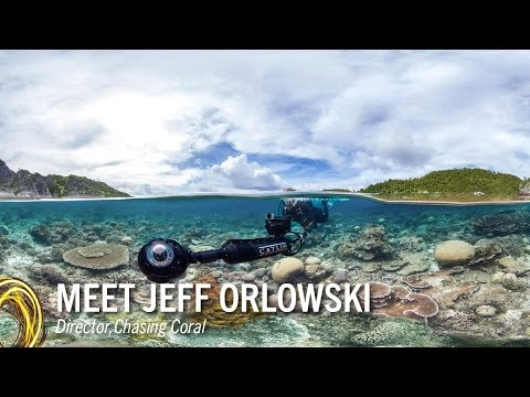 Jeff Orlowski on his film Chasing Coral