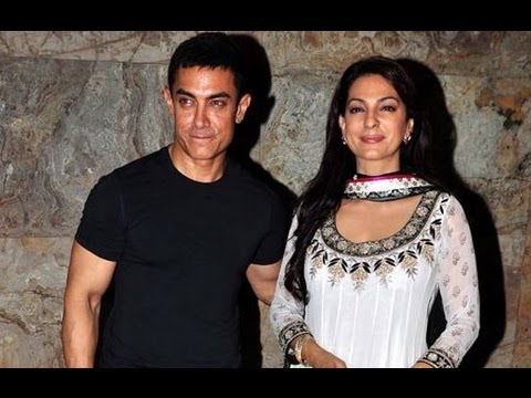 QAYAMAT SE QAYAMAT TAK 25 Years Special Screening | Aamir Khan & Juhi Chawla arrive together