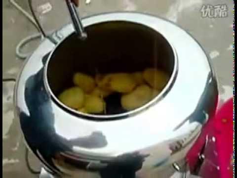Alat pengupas Kulit Ubi Mentah, mesin pengupas kulit kentang otomatis