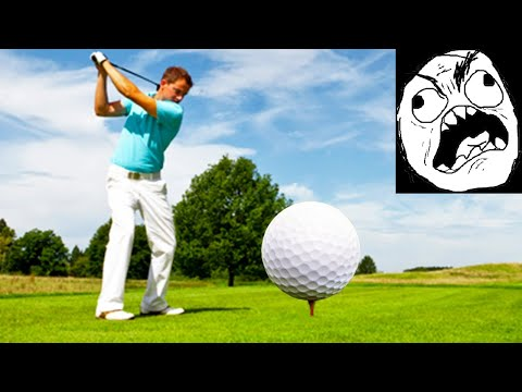 Golfing with absolute degenerates | Funny moments and rage