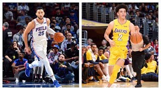 Lonzo Ball, Markelle Fultz, Jayson Tatum, Josh Jackson And More Rookie NBA Preseason Debuts