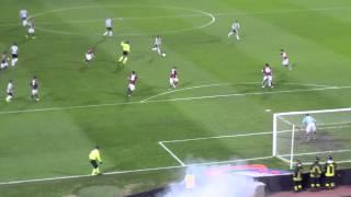 16/03/2013 - Campionato di Serie A - Bologna-Juventus 0-2, il gol di Vucinic (di pagno1972)