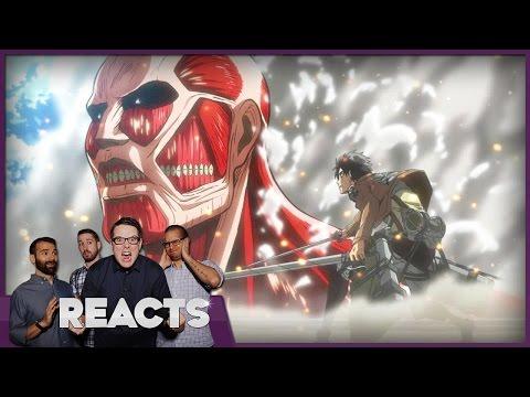 Attack on Titan Season 1 Review - Kinda Funny Reacts