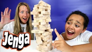Crazy Jenga Challenge!  | Family Fun Video