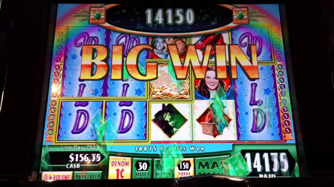 wizard of oz slot bonus