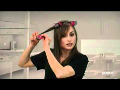 Xtreme Instant Heat Multisized Hot Rollers on Straight Hair How To Video