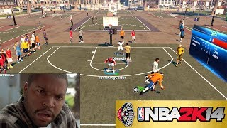 NBA 2K14 PS4 The Park WTF 2K?!?! Fix This Glitch