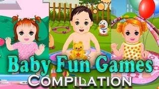 Baby Fun Games For Kids Compilation HD BOKGames Girls