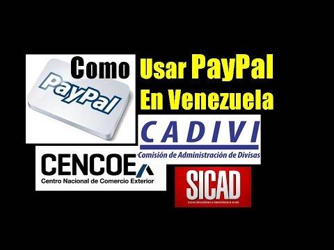 Aprovecha tus #dolares #CENCOEX #SICAD #CADIVI con #PayPal
