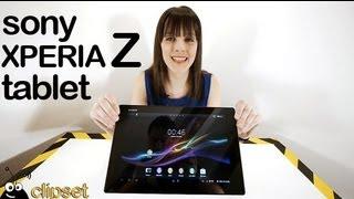 Sony Xperia Tablet Z Review Videorama
