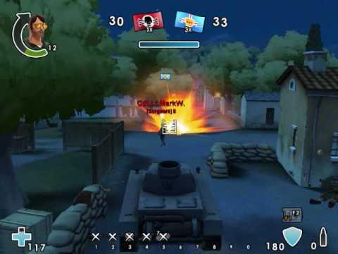 "Нeavy играет в ""Battlefield heroes"""