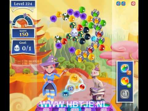 Bubble Witch Saga 2 level 224