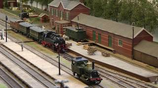 Die kleine Modellbahn im Verkehrsmuseum Winterswijk