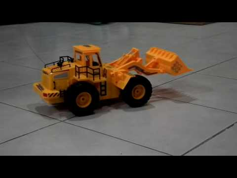 RC Wheeled Loader Construction Vehicle  (MADTOY SHOP)