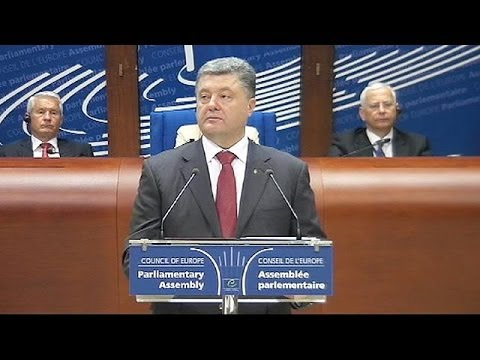 Ukrainian President Poroshenko says Ukraine crisis will affect future of Europe