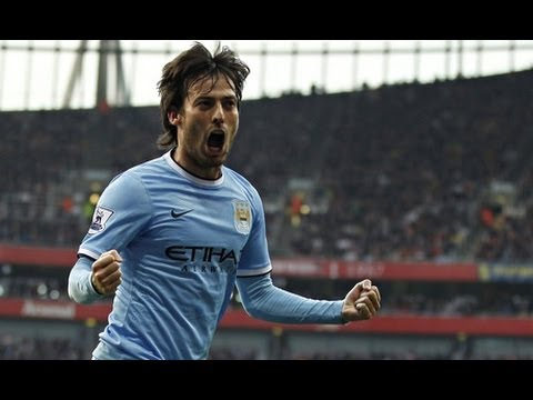 David Silva - Player of the Month (March) HD (720p)