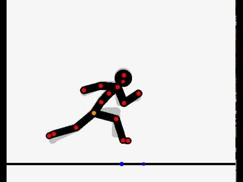 Como fazer um boneco Stick correr!