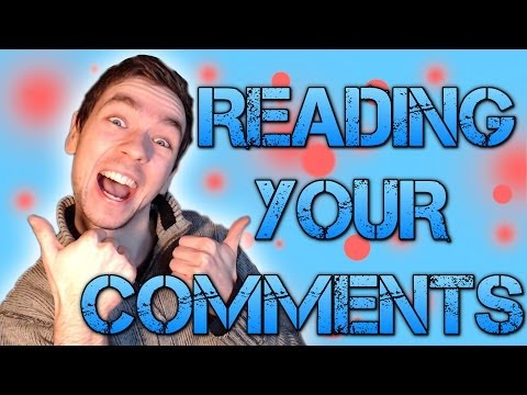 Vlog | READING YOUR COMMENTS #5 | WHAT DOES THE FOX SAY?