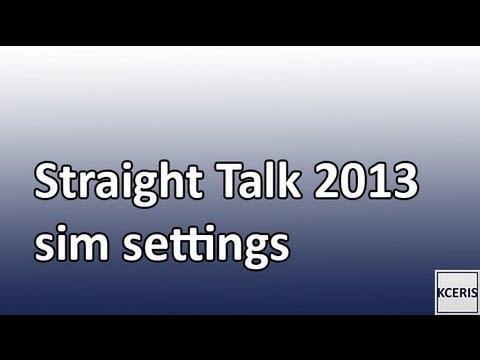 Straight Talk APN Settings AT&T