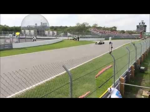 2014 Canadian Formula 1 GP - Race Compilation