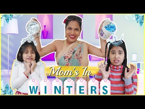 MOM's During WINTERS .. | #Fun #Sketch #RolePlay #Anaysa #MyMissAnand #ShrutiArjunAnand